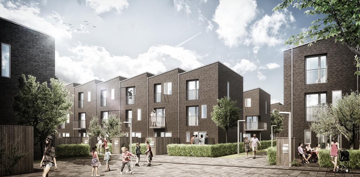 C-WEB.DK - Referencer - Bella Kvarter – Byggefelt 10: Townhouses